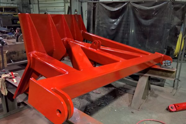 Newly fabricated front blade